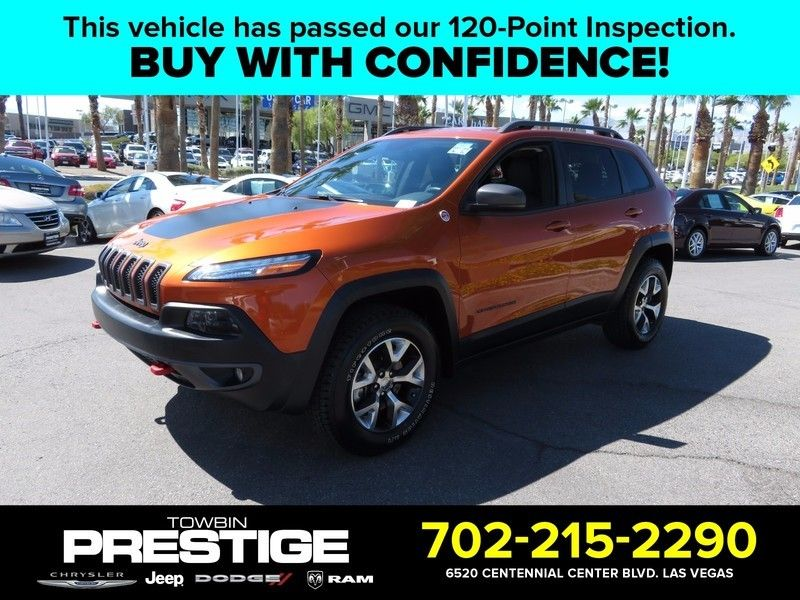 2015 Jeep Cherokee 4WD 4dr Trailhawk - 16873090 - 0