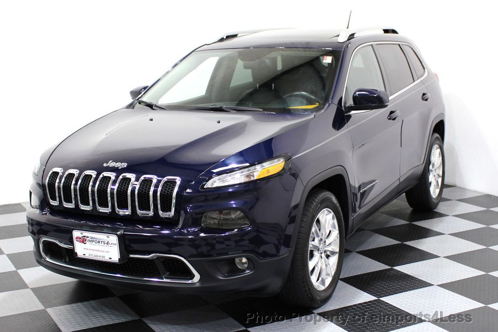 2015 Jeep Cherokee CERTIFIED JEEP CHEROKEE 4X4 LIMITED CAMERA NAVIGATION - 16845300 - 0