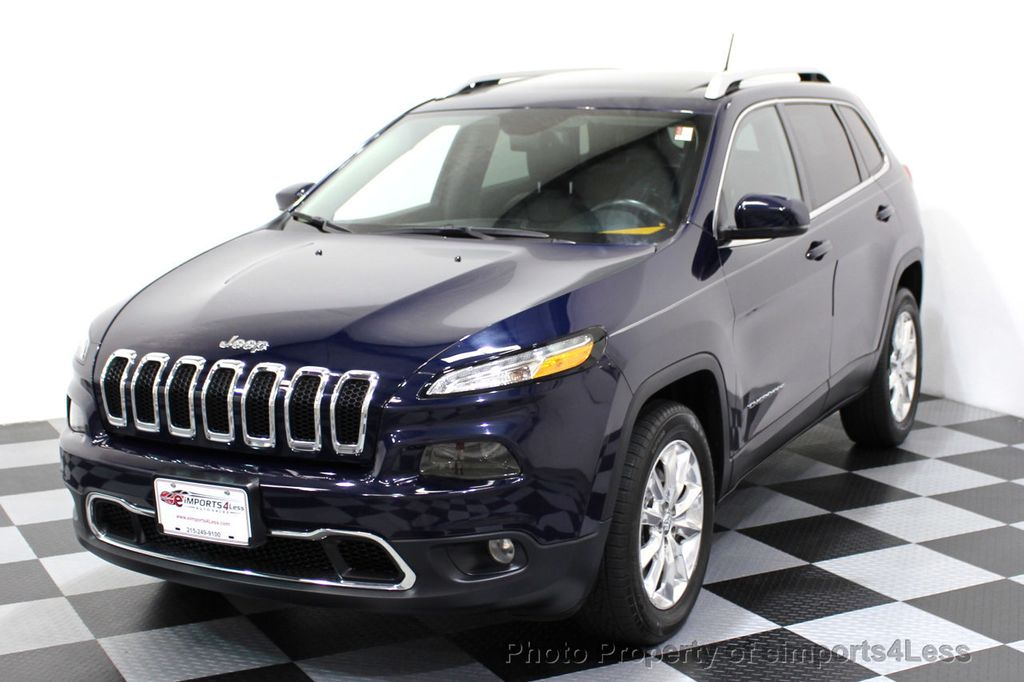 2015 Jeep Cherokee CERTIFIED JEEP CHEROKEE 4X4 LIMITED CAMERA NAVIGATION - 16845300 - 13
