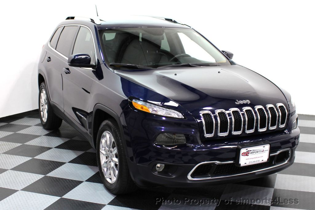 2015 Jeep Cherokee CERTIFIED JEEP CHEROKEE 4X4 LIMITED CAMERA NAVIGATION - 16845300 - 14