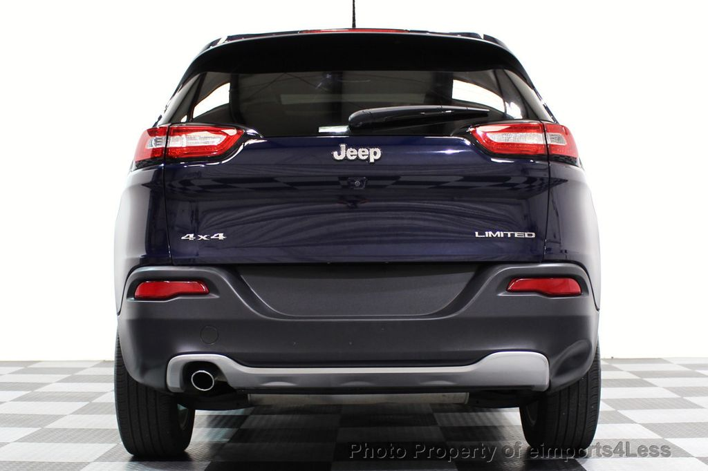 2015 Jeep Cherokee CERTIFIED JEEP CHEROKEE 4X4 LIMITED CAMERA NAVIGATION - 16845300 - 16