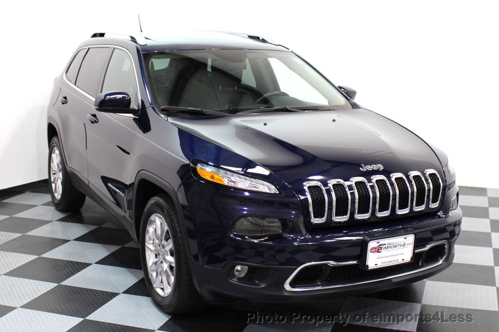 2015 Jeep Cherokee CERTIFIED JEEP CHEROKEE 4X4 LIMITED CAMERA NAVIGATION - 16845300 - 1