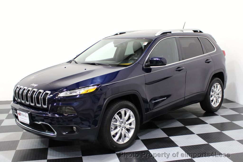 2015 Jeep Cherokee CERTIFIED JEEP CHEROKEE 4X4 LIMITED CAMERA NAVIGATION - 16845300 - 27