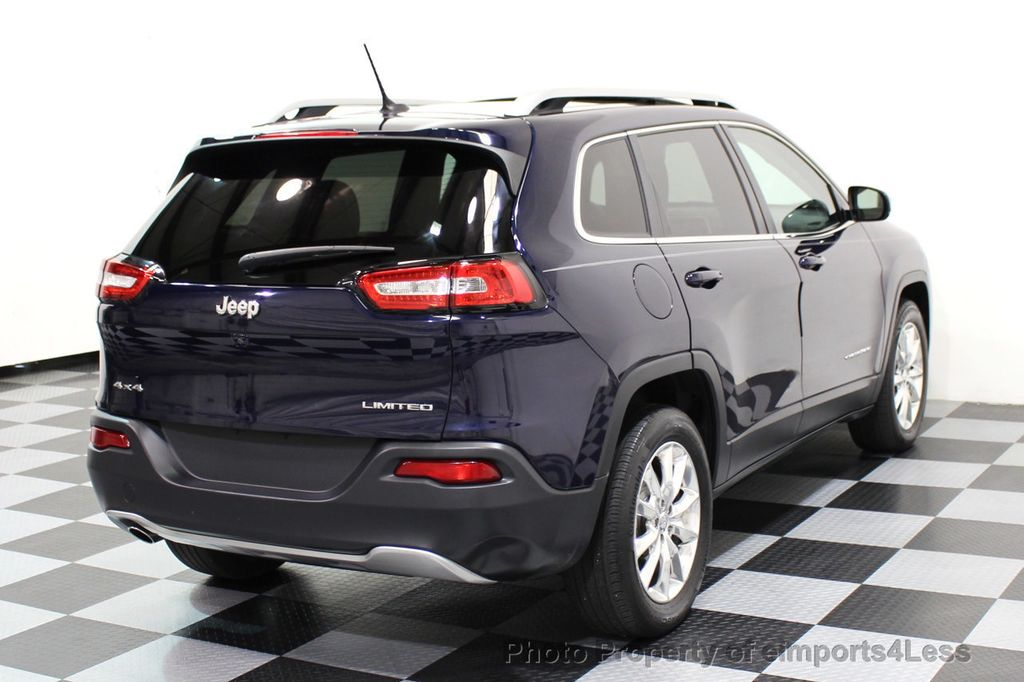 2015 Jeep Cherokee CERTIFIED JEEP CHEROKEE 4X4 LIMITED CAMERA NAVIGATION - 16845300 - 3