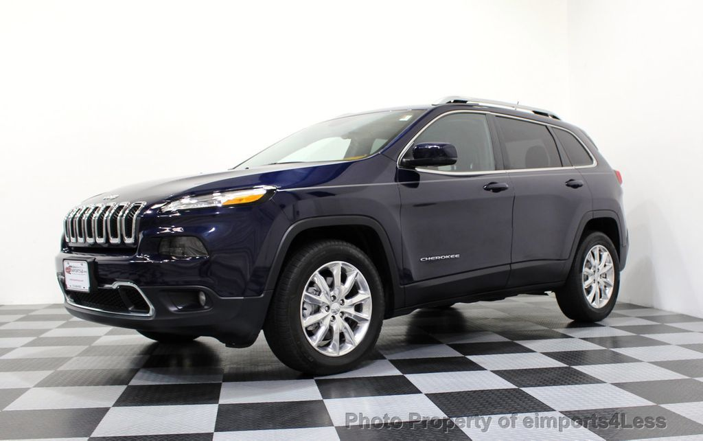 2015 Jeep Cherokee CERTIFIED JEEP CHEROKEE 4X4 LIMITED CAMERA NAVIGATION - 16845300 - 42