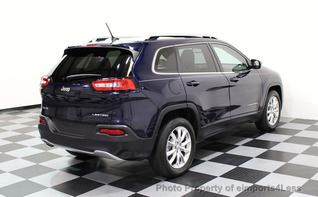 2015 Jeep Cherokee CERTIFIED JEEP CHEROKEE 4X4 LIMITED CAMERA NAVIGATION - 16845300 - 45