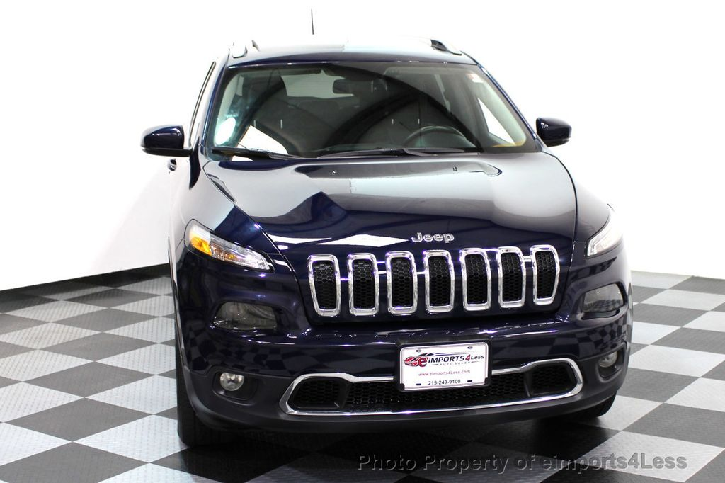 2015 Jeep Cherokee CERTIFIED JEEP CHEROKEE 4X4 LIMITED CAMERA NAVIGATION - 16845300 - 48