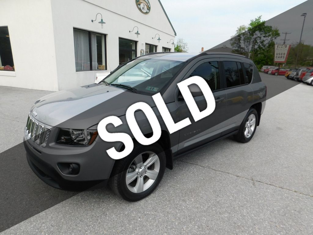 2015 Used Jeep Compass 4WD 4dr Latitude at HG Motorcar Corporation Serving  Downingtown, PA, IID 18894388
