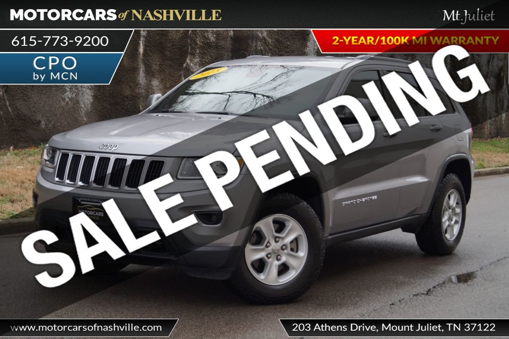 2015 Jeep Grand Cherokee 4WD 4dr Laredo - 18527738 - 0