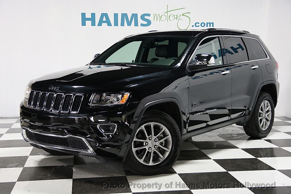2015 used jeep grand cherokee 4wd 4dr limited at haims motors ft lauderdale serving lauderdale. Black Bedroom Furniture Sets. Home Design Ideas