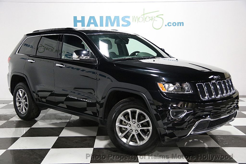2015 used jeep grand cherokee 4wd 4dr limited at haims motors serving fort lauderdale hollywood. Black Bedroom Furniture Sets. Home Design Ideas