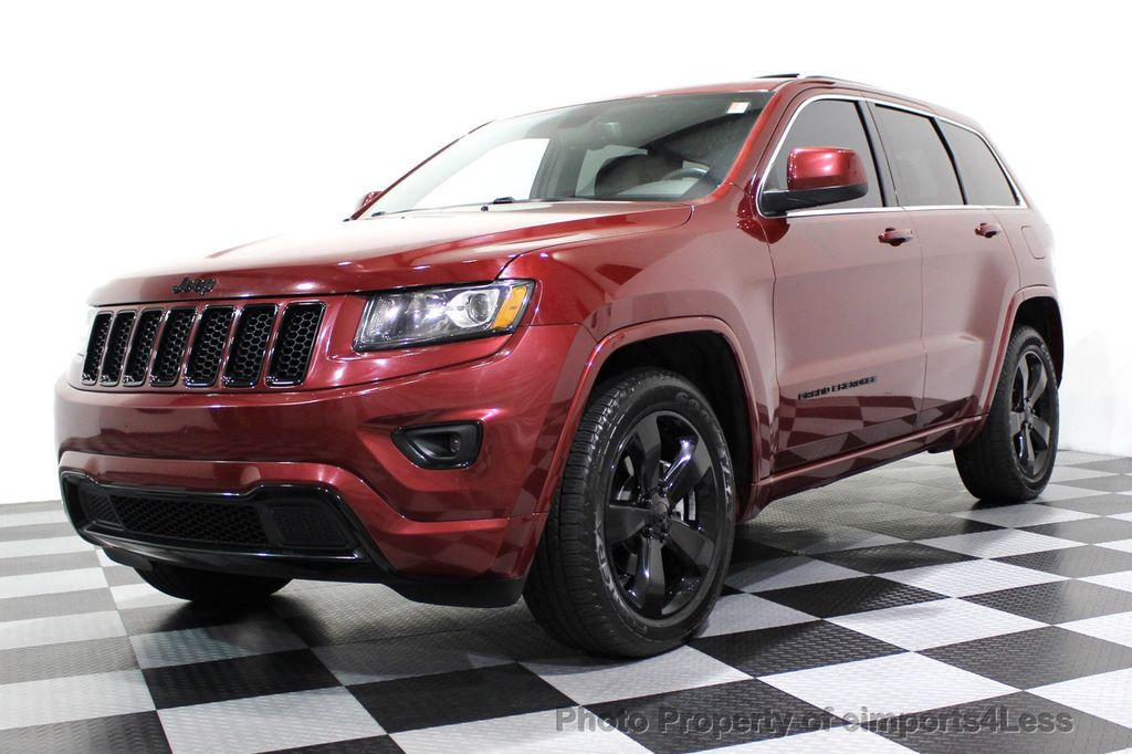 2015 Jeep Grand Cherokee CERTIFIED GRAND CHEROKEE 4WD ALTITUDE CAMERA / NAVI - 16845302 - 0
