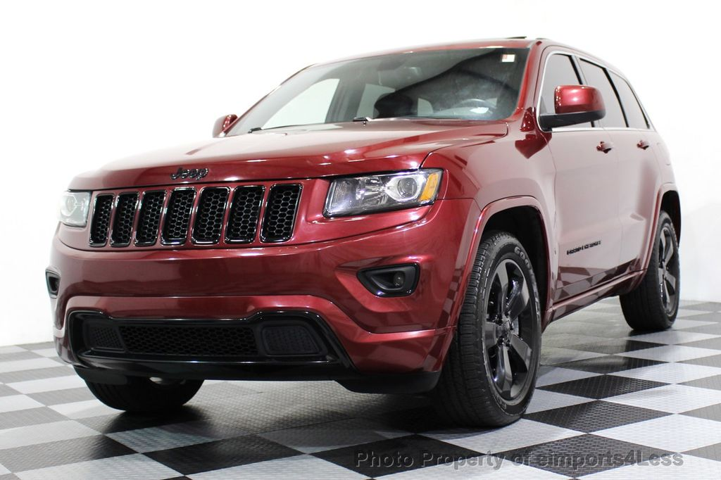 2015 Jeep Grand Cherokee CERTIFIED GRAND CHEROKEE 4WD ALTITUDE CAMERA / NAVI - 16845302 - 13