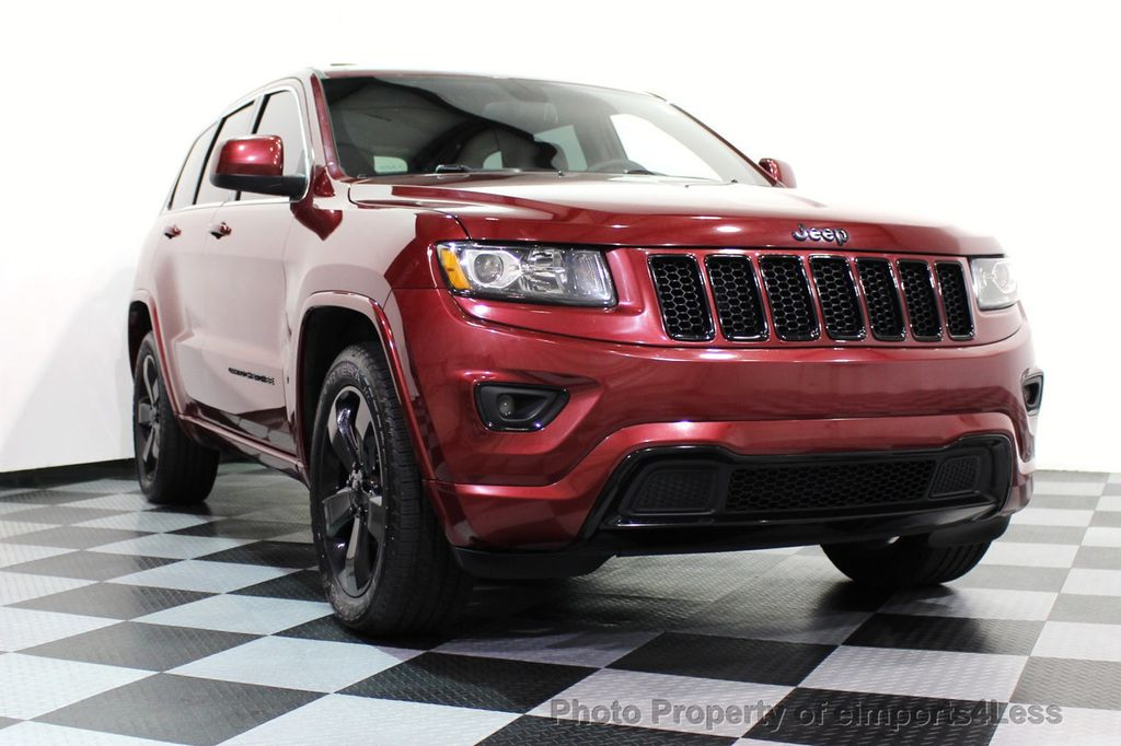 2015 Jeep Grand Cherokee CERTIFIED GRAND CHEROKEE 4WD ALTITUDE CAMERA / NAVI - 16845302 - 14