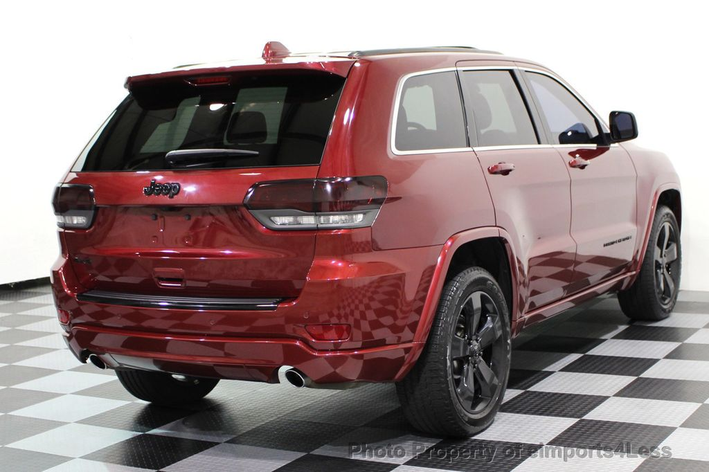 2015 Jeep Grand Cherokee CERTIFIED GRAND CHEROKEE 4WD ALTITUDE CAMERA / NAVI - 16845302 - 17