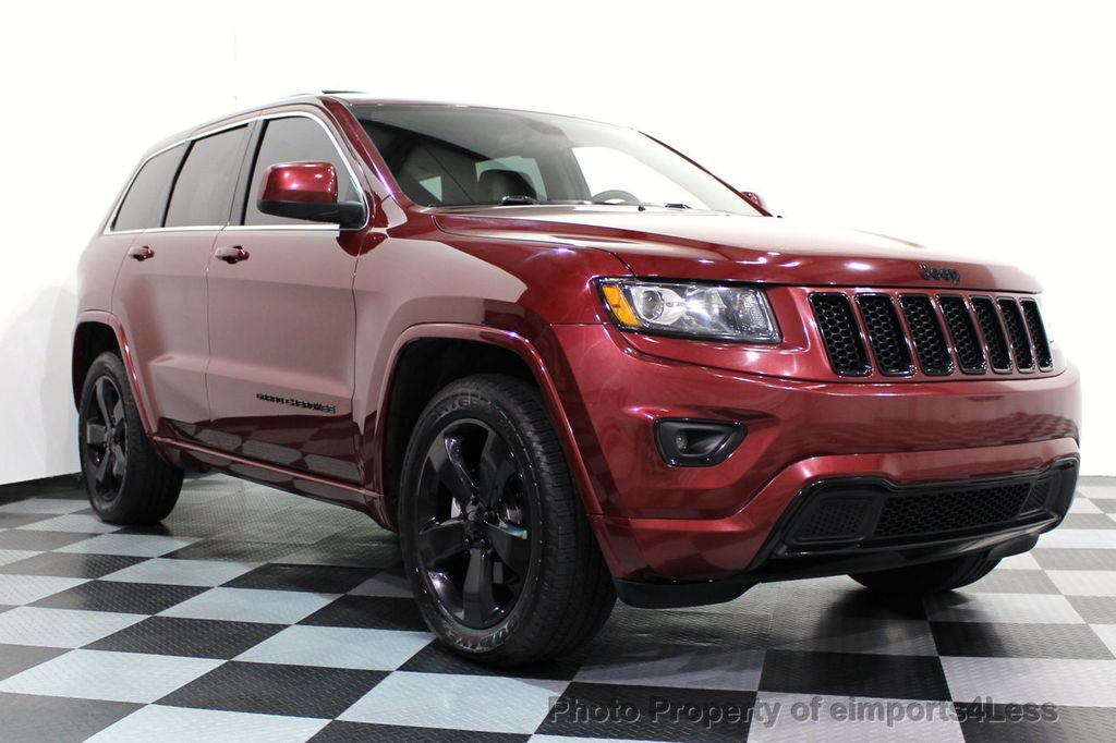 2015 Jeep Grand Cherokee CERTIFIED GRAND CHEROKEE 4WD ALTITUDE CAMERA / NAVI - 16845302 - 1