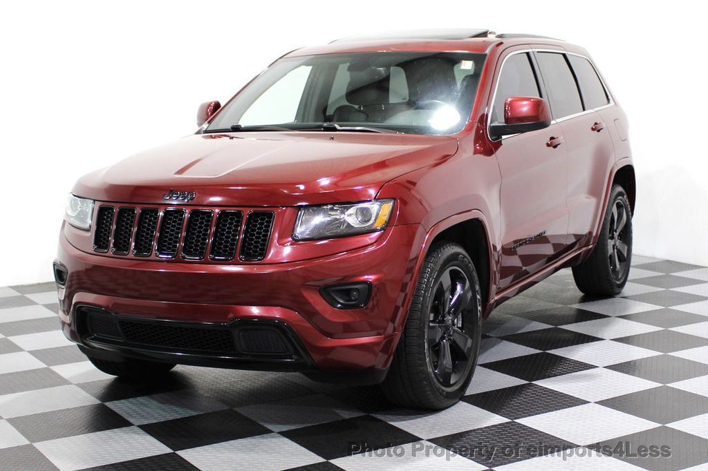2015 Jeep Grand Cherokee CERTIFIED GRAND CHEROKEE 4WD ALTITUDE CAMERA / NAVI - 16845302 - 27