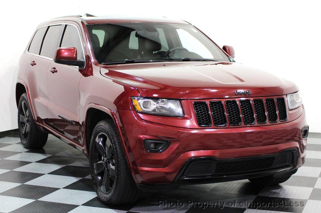 2015 Jeep Grand Cherokee CERTIFIED GRAND CHEROKEE 4WD ALTITUDE CAMERA / NAVI - 16845302 - 28