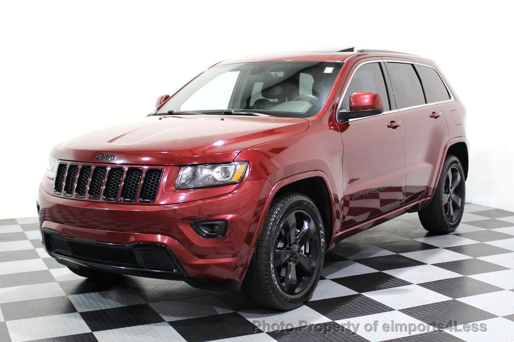 2015 Jeep Grand Cherokee CERTIFIED GRAND CHEROKEE 4WD ALTITUDE CAMERA / NAVI - 16845302 - 39