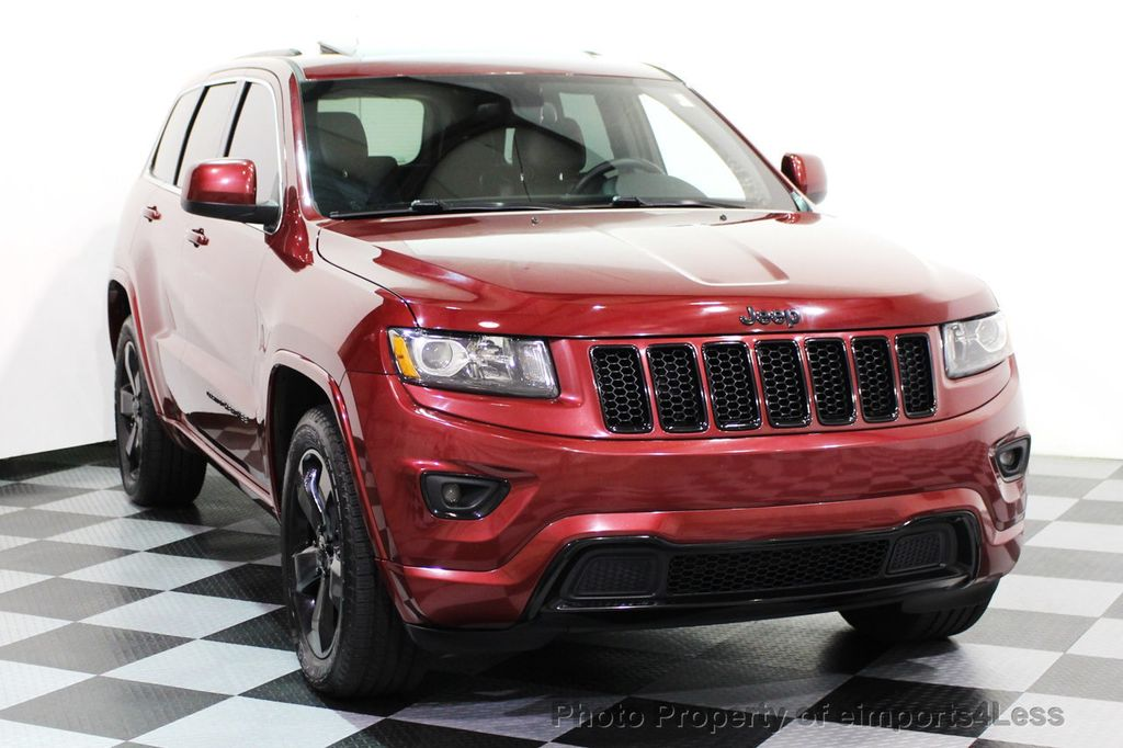 2015 Jeep Grand Cherokee CERTIFIED GRAND CHEROKEE 4WD ALTITUDE CAMERA / NAVI - 16845302 - 40