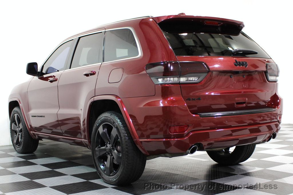 2015 Jeep Grand Cherokee CERTIFIED GRAND CHEROKEE 4WD ALTITUDE CAMERA / NAVI - 16845302 - 41