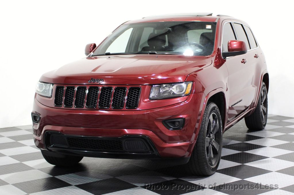 2015 Jeep Grand Cherokee CERTIFIED GRAND CHEROKEE 4WD ALTITUDE CAMERA / NAVI - 16845302 - 50