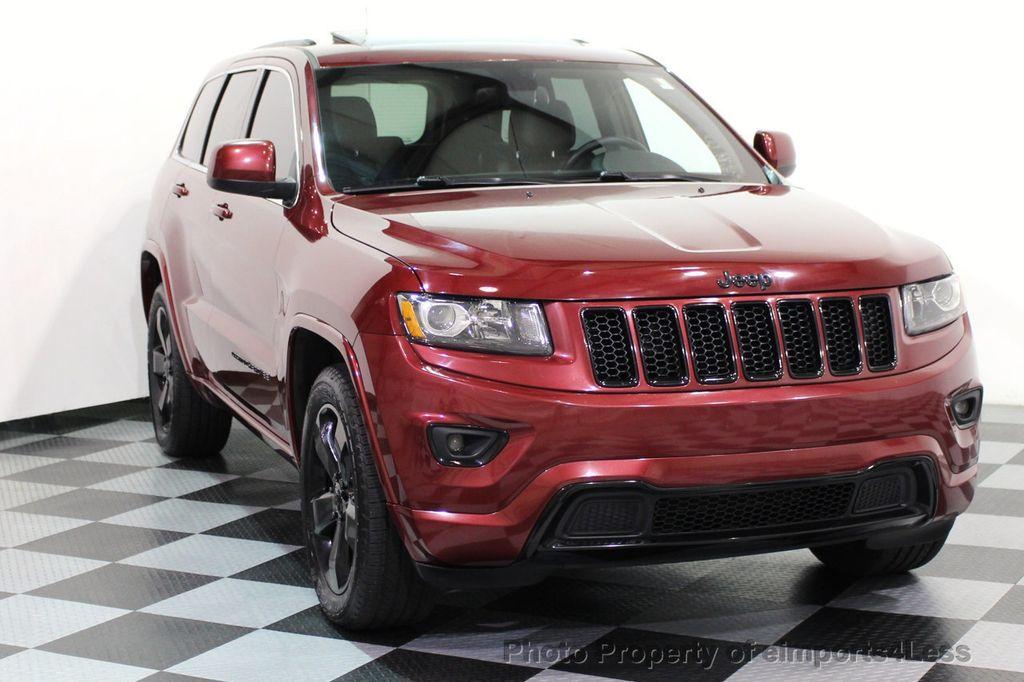2015 Jeep Grand Cherokee CERTIFIED GRAND CHEROKEE 4WD ALTITUDE CAMERA / NAVI - 16845302 - 51