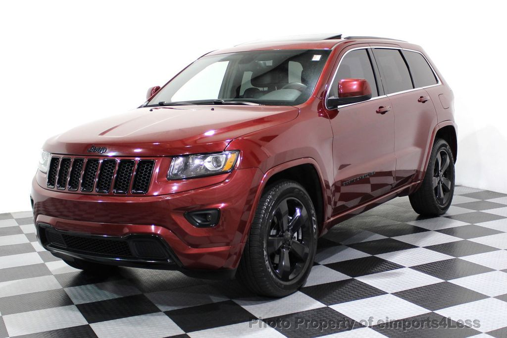 2015 Jeep Grand Cherokee CERTIFIED GRAND CHEROKEE 4WD ALTITUDE CAMERA / NAVI - 16845302 - 54