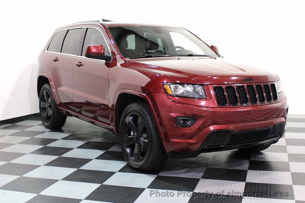 2015 Jeep Grand Cherokee CERTIFIED GRAND CHEROKEE 4WD ALTITUDE CAMERA / NAVI - 16845302 - 57