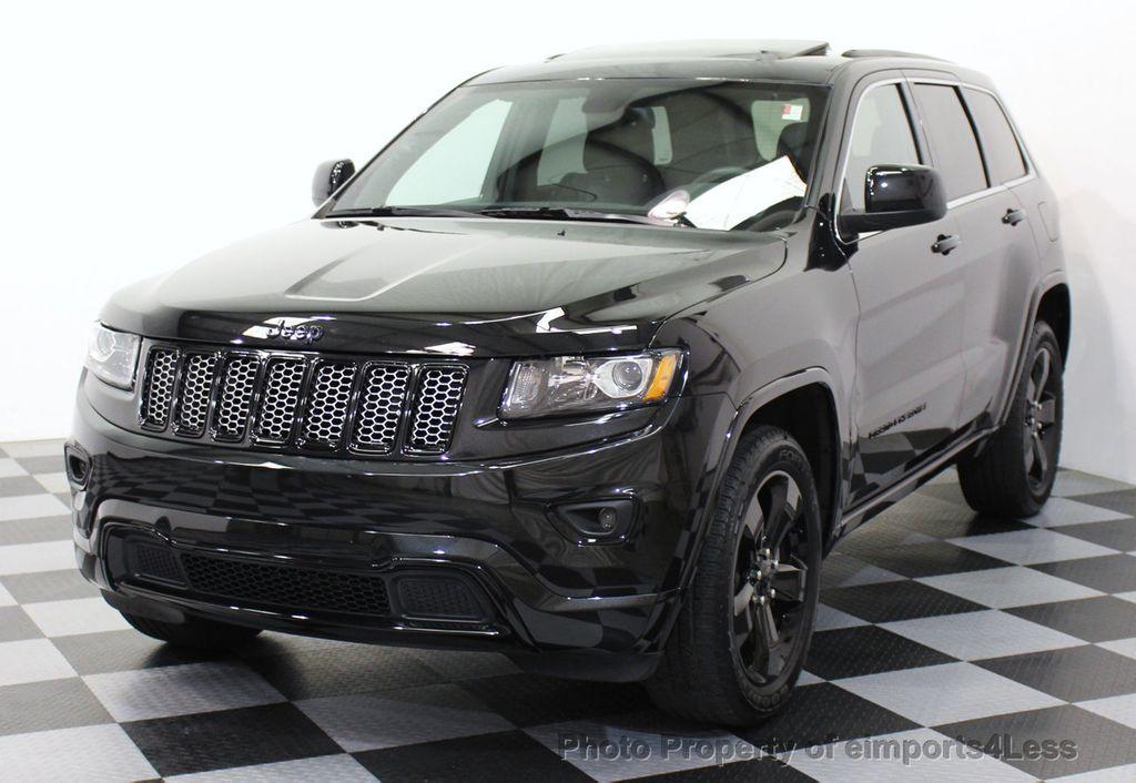 2015 Used Jeep Grand Cherokee Certified Grand Cherokee V6 4wd Altitude At Eimports4less Serving