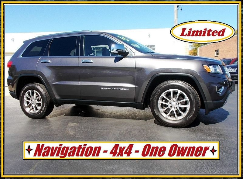 2015 Jeep Grand Cherokee NAVIGATION LOADED - 18020130 - 1