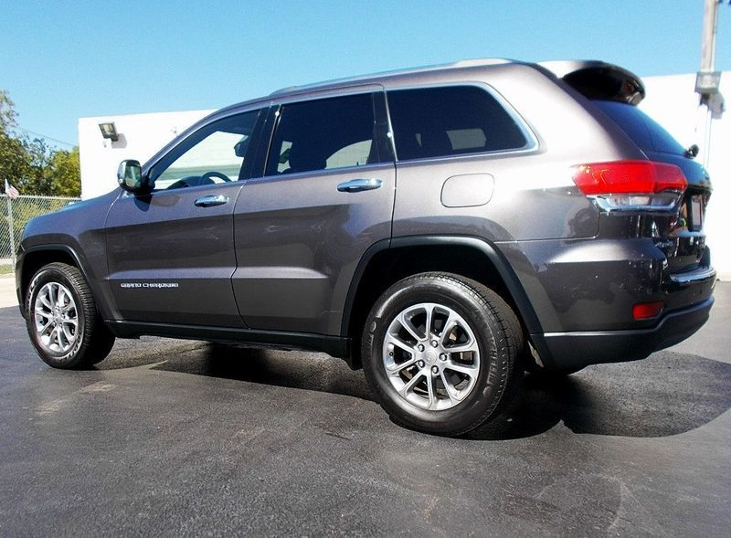 2015 Jeep Grand Cherokee NAVIGATION LOADED - 18020130 - 4