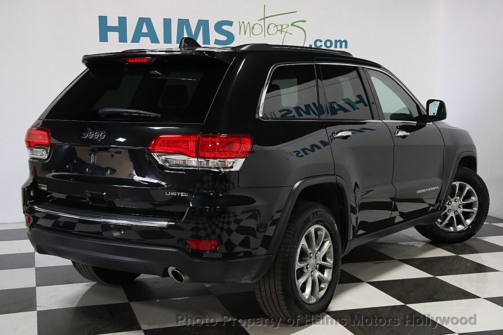 2015 used jeep grand cherokee rwd 4dr limited at haims motors serving fort lauderdale hollywood. Black Bedroom Furniture Sets. Home Design Ideas