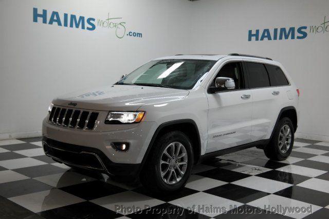 2017 Used Jeep Grand Cherokee Rwd 4dr Limited At Haims Motors