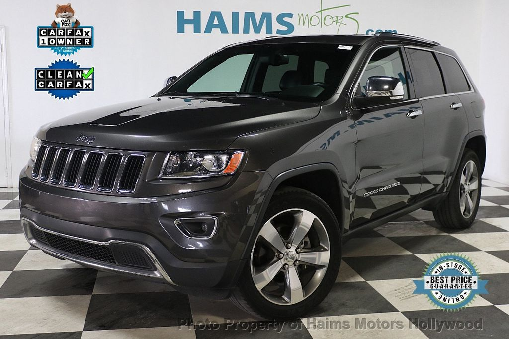 2015 Jeep Grand Cherokee RWD 4dr Limited - 17867108 - 0