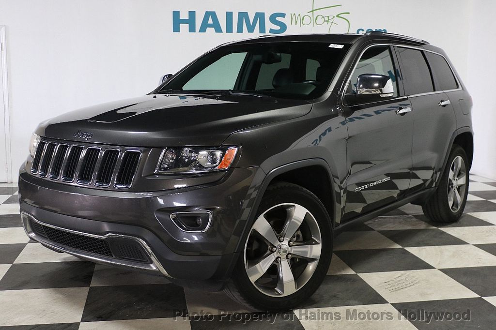 2015 Jeep Grand Cherokee RWD 4dr Limited - 17867108 - 1