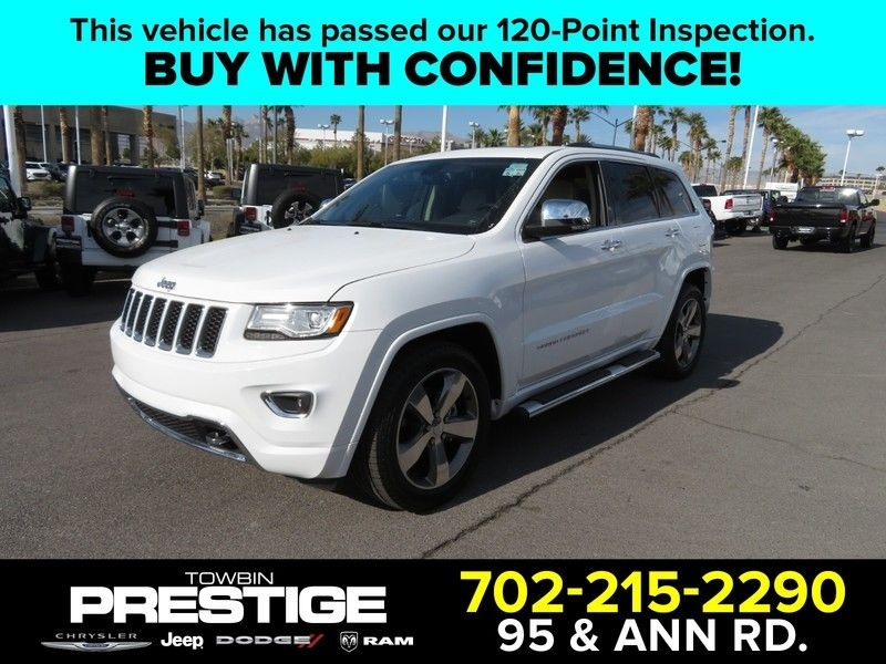 2015 Jeep Grand Cherokee RWD 4dr Overland - 17382010 - 0