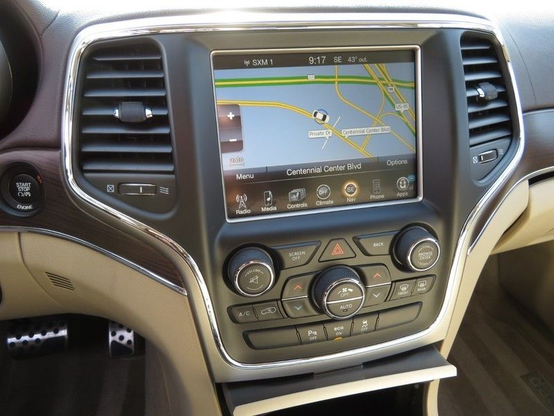 2015 Jeep Grand Cherokee RWD 4dr Overland - 17382010 - 24