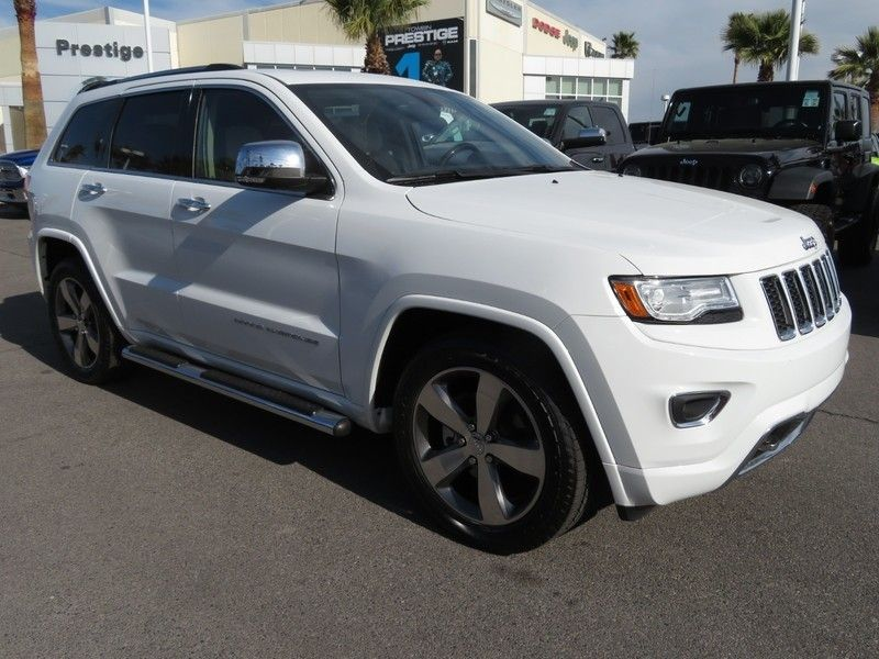 2015 Jeep Grand Cherokee RWD 4dr Overland - 17382010 - 2
