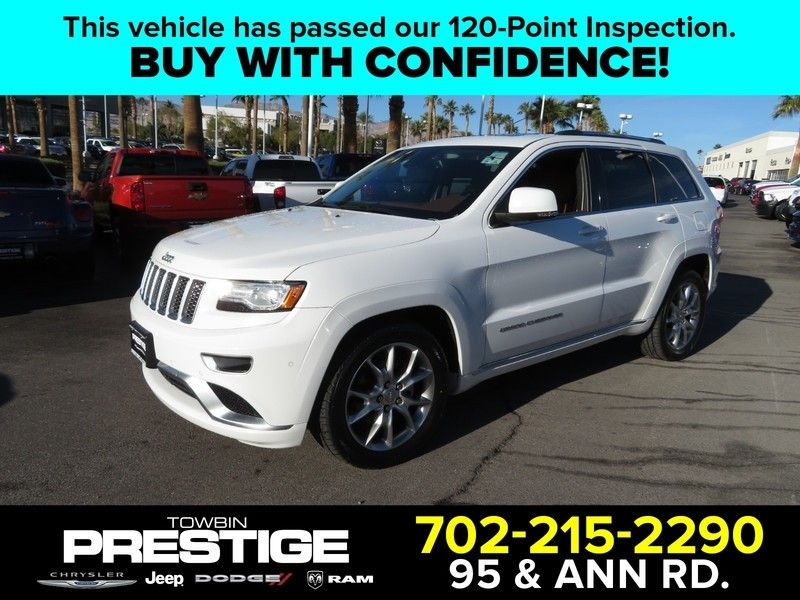 2015 Jeep Grand Cherokee RWD 4dr Summit - 17210112 - 0