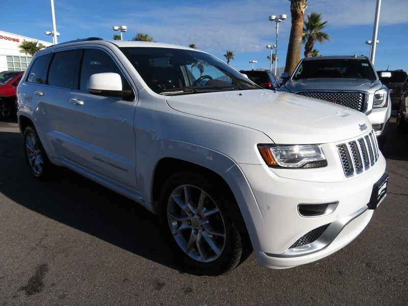 2015 Jeep Grand Cherokee RWD 4dr Summit - 17210112 - 2