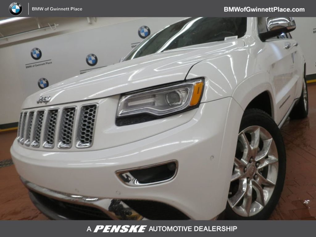 2015 Jeep Grand Cherokee RWD 4dr Summit - 16983931 - 0