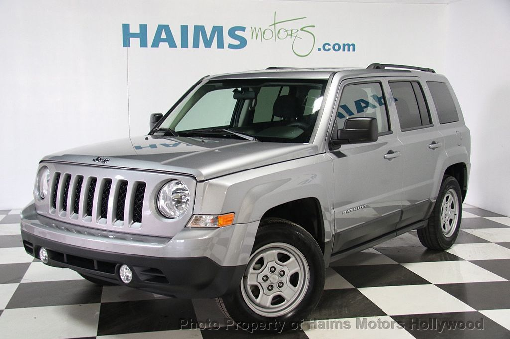 2015 used jeep patriot fwd 4dr sport at haims motors ft. Black Bedroom Furniture Sets. Home Design Ideas