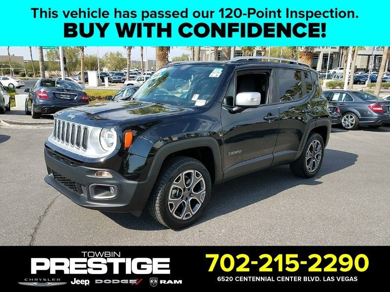 2015 Jeep Renegade 4WD 4dr Limited - 16784400 - 0