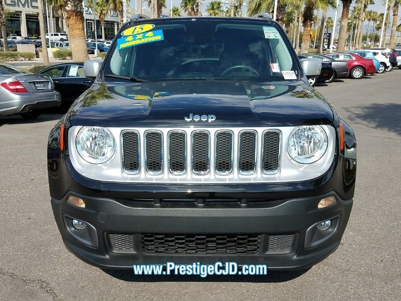 2015 Jeep Renegade 4WD 4dr Limited - 16784400 - 1