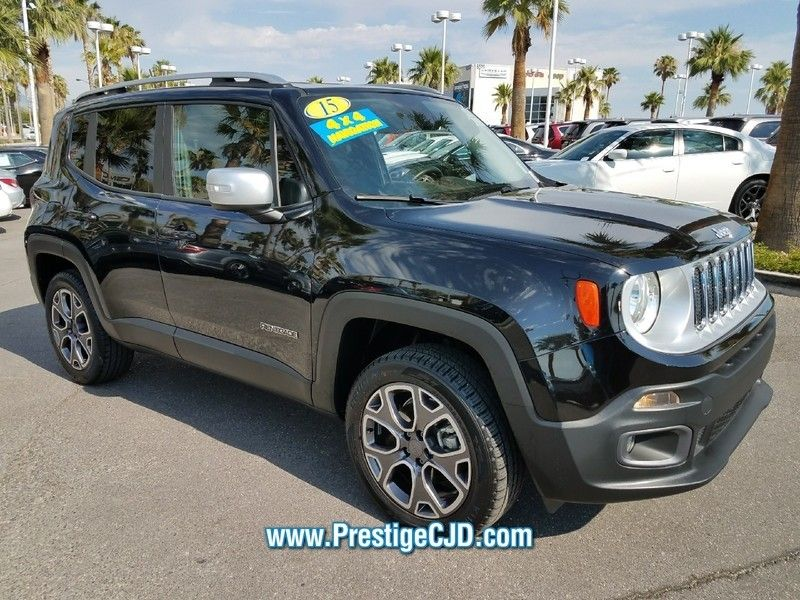 2015 Jeep Renegade 4WD 4dr Limited - 16784400 - 2