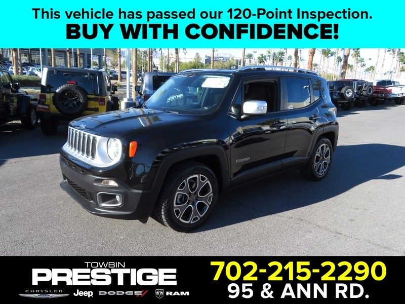 2015 Jeep Renegade FWD 4dr Limited - 17104139 - 0
