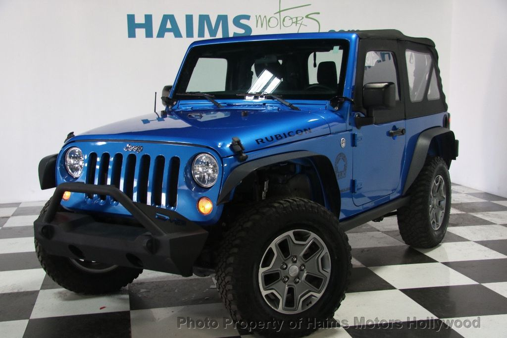 2015 used jeep wrangler 4wd 2dr rubicon at haims motors serving fort lauderdale hollywood. Black Bedroom Furniture Sets. Home Design Ideas