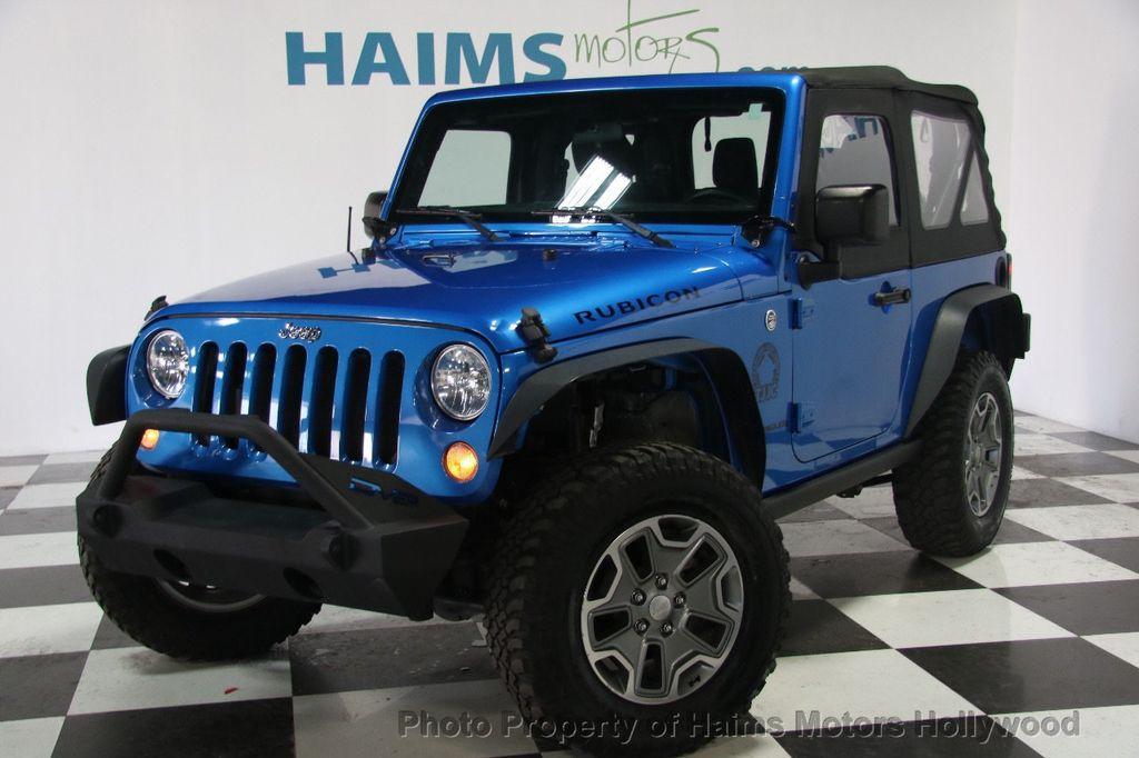 2015 Used Jeep Wrangler 4wd 2dr Rubicon At Haims Motors