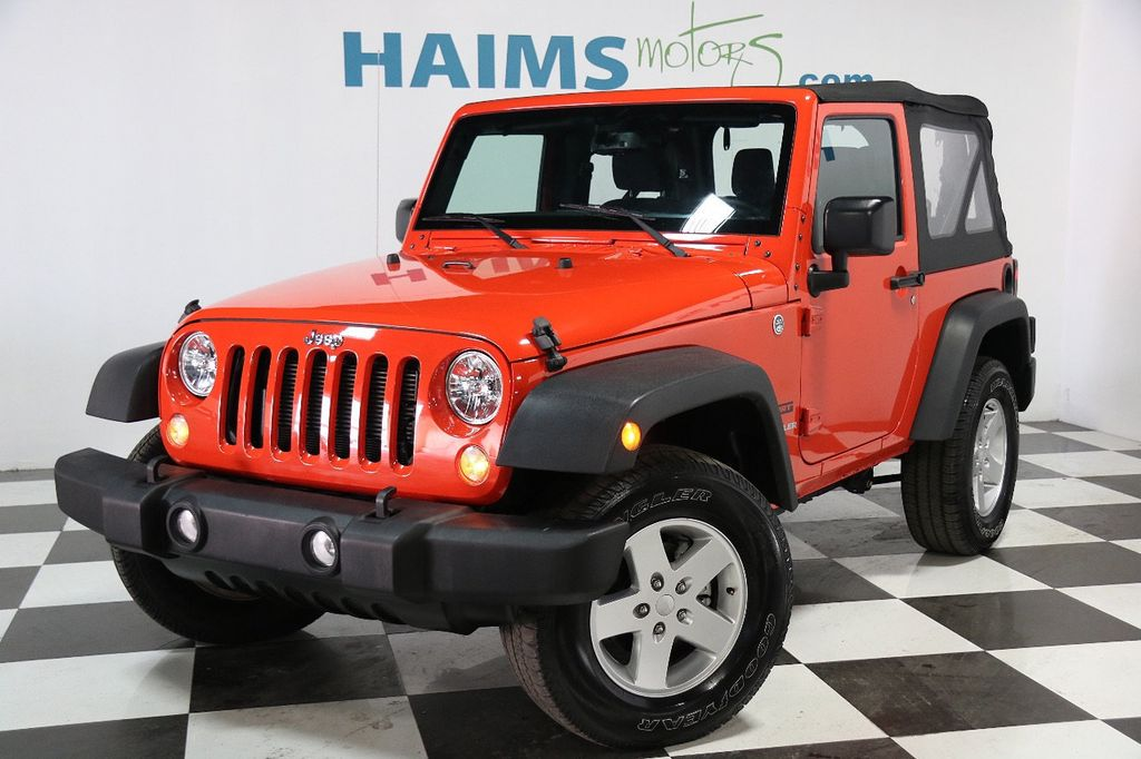 2015 Used Jeep Wrangler 4WD 2dr Sport at Haims Motors Serving Fort